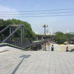大阪城公園の近くでランステを探してたらJO-TERRACE OSAKAなる施設を発見!